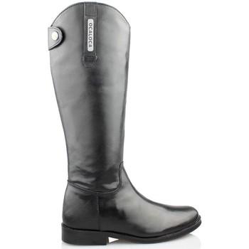 Schuhe Damen Klassische Stiefel Oca Loca OCA LOCA CABALLERIZA SCHWARZ