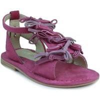 Schuhe Mädchen Sandalen / Sandaletten Oca Loca OCA LOCA Sandale modernes Mädchen FUXIA