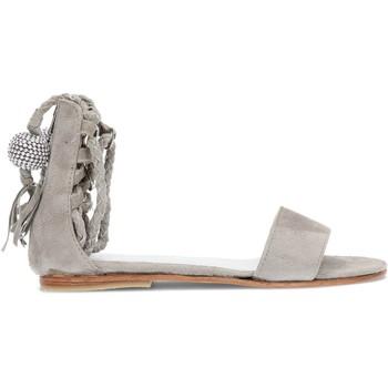 Schuhe Kinder Sandalen / Sandaletten Martinelli OCA LOCA Nubukleder Sandalen für Mädchen GRAU