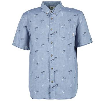 Kleidung Herren Kurzärmelige Hemden Vans HOUSER SS Blau