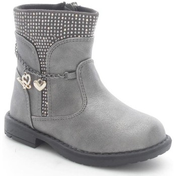 Schuhe Kinder Low Boots Asso 44210 Stiefeletten Kind Silver Silver