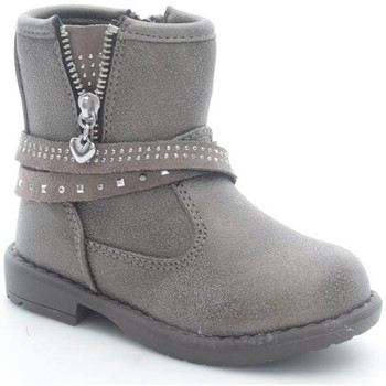 Schuhe Kinder Low Boots Asso 44209 Stiefeletten Kind Taupe Taupe