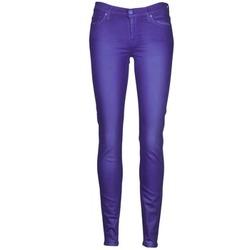 Kleidung Damen Slim Fit Jeans 7 for all Mankind THE SKINNY VINE LEAF Blau