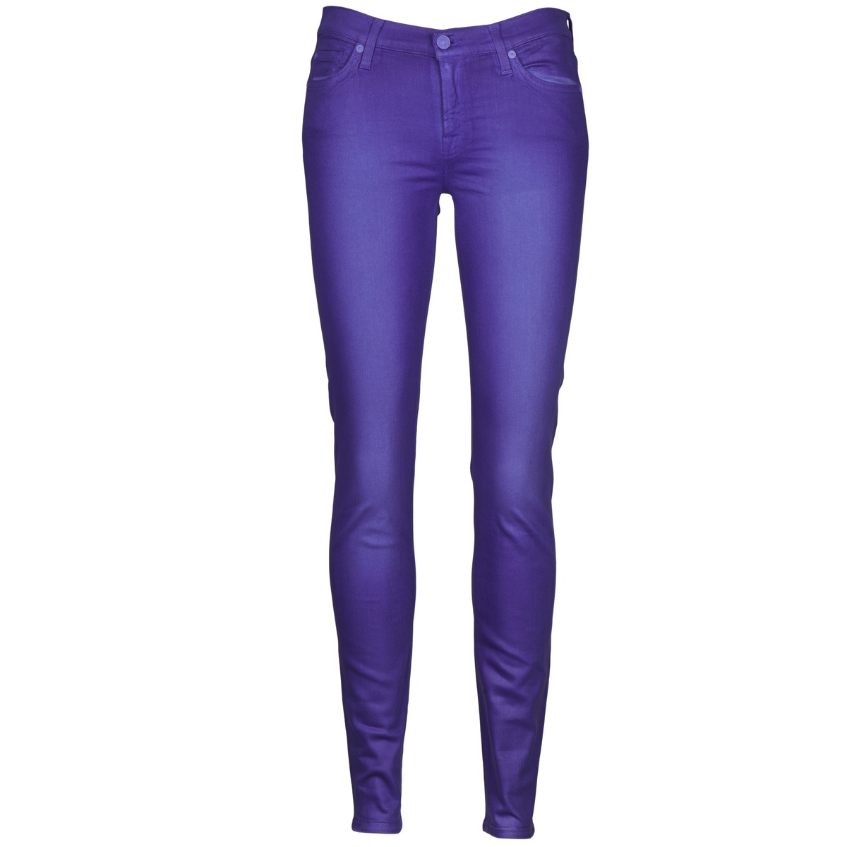 7 for all Mankind THE SKINNY VINE LEAF Blau