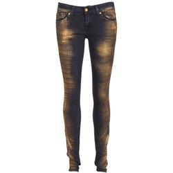 Kleidung Damen Slim Fit Jeans 7 for all Mankind OLIVYA Blau