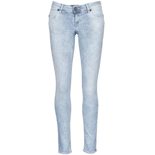 Kleidung Damen Slim Fit Jeans Meltin'pot MONIE Schwarz