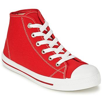 Schuhe Herren Sneaker High Yurban WAXI Rot