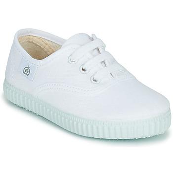 Schuhe Kinder Sneaker Low Citrouille et Compagnie KIPPI BOU Weiss