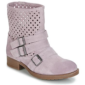 Schuhe Damen Boots Casual Attitude DISNELLE Rose