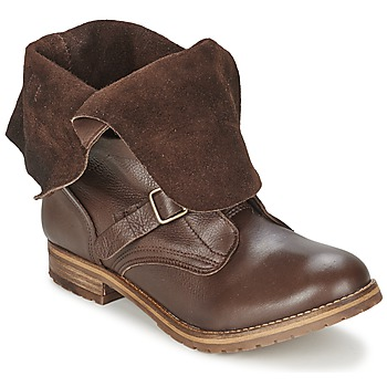 Schuhe Damen Boots Casual Attitude DISNELLE Braun