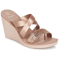 Schuhe Damen Sandalen / Sandaletten Grendha PARADISO II PLAT Rose