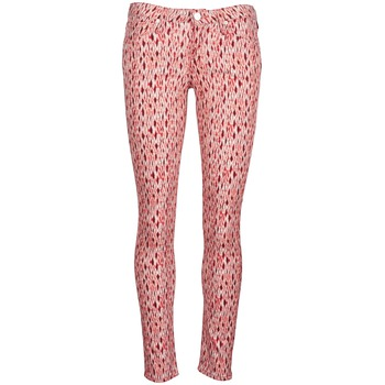 Kleidung Damen Slim Fit Jeans Lee SCARLETT Rot / Orange