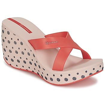 Schuhe Damen Pantoffel Ipanema LIPSTICK STRAPS II Rot / Rose