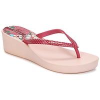 Schuhe Damen Zehensandalen Ipanema ART DECO II Rose