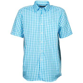 Kleidung Herren Kurzärmelige Hemden Pierre Cardin 539236202-140 Blau