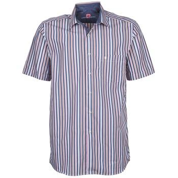 Kleidung Herren Kurzärmelige Hemden Pierre Cardin 514636216-184 Blau / Rose