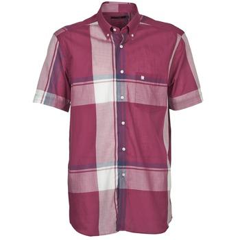 Kleidung Herren Kurzärmelige Hemden Pierre Cardin 538536226-860 Malvenfarben / Violett