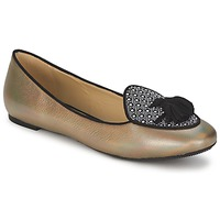 Schuhe Damen Ballerinas Etro 3922 Gold