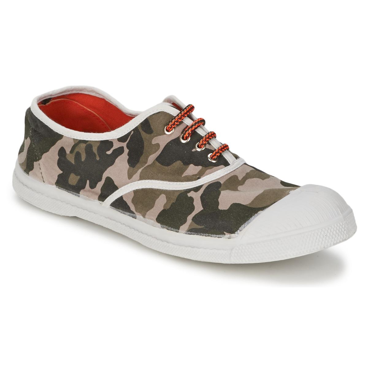 Bensimon TENNIS CAMOFLUO Camouflage