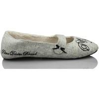 Schuhe Damen Hausschuhe Pepe jeans nach Hause gehen bequem GRAU