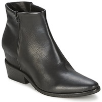 Schuhe Damen Boots Strategia BLOCUSSON Schwarz