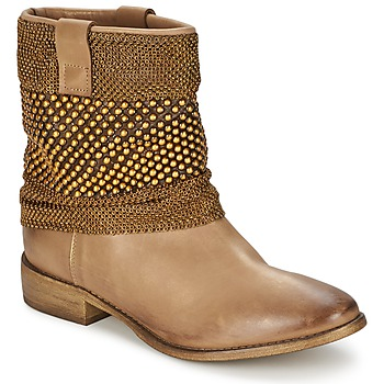 Schuhe Damen Boots Strategia MAILLETT Gold