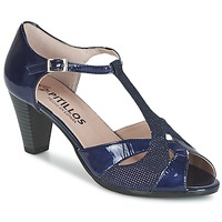 Schuhe Damen Sandalen / Sandaletten Pitillos MARILOU Marine