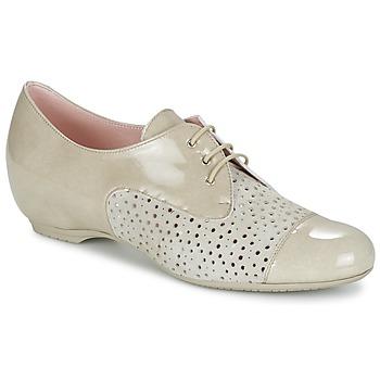 Schuhe Damen Derby-Schuhe Pitillos CLETTE Naturfarben