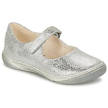 Schuhe Mädchen Ballerinas Shoo Pom MILA BABY Silbern