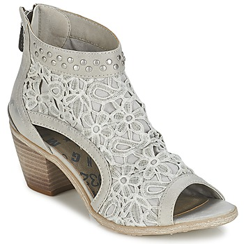 Schuhe Damen Sandalen / Sandaletten Mustang MAIJA Grau