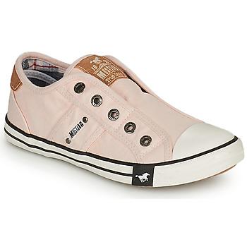 Schuhe Mädchen Sneaker Low Mustang SHAYAN Rose