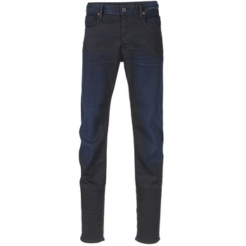 Kleidung Herren Slim Fit Jeans G-Star Raw 3301 SLIM Dark / SUPER / Paillettenschwarz