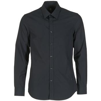 Kleidung Herren Langärmelige Hemden G-Star Raw CORE Schwarz