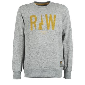 Kleidung Herren Sweatshirts G-Star Raw RIGHTREGE R SW L/S Grau