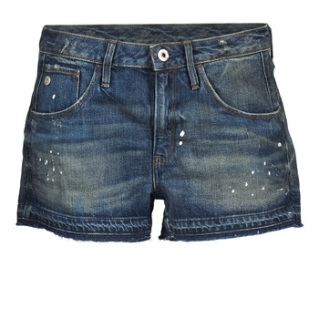 Kleidung Damen Shorts / Bermudas G-Star Raw ARC BF RIPPED SHORT WMN Blau
