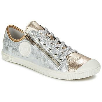 Schuhe Damen Sneaker Low Pataugas BISKOT/MCM Silbern