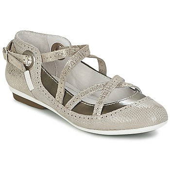 Schuhe Damen Ballerinas Pataugas TOTEM Maulwurf