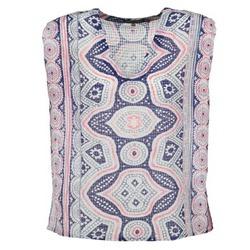 Kleidung Damen Tops / Blusen Antik Batik JAGGA Blau / Multifarben
