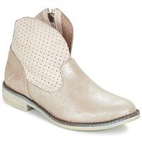 Schuhe Mädchen Boots Ikks CINDY Silbern