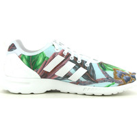 Schuhe Damen Sneaker Low adidas Originals ZX Flux smooth Blau