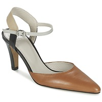 Schuhe Damen Sandalen / Sandaletten Perlato ANTELLA Cognac