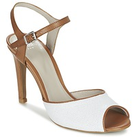 Schuhe Damen Sandalen / Sandaletten Perlato PINEDA Weiss