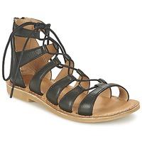 Schuhe Mädchen Sandalen / Sandaletten Shwik LAZAR HI LACE Schwarz