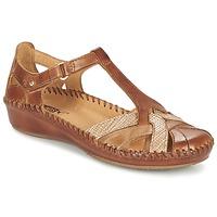 Schuhe Damen Sandalen / Sandaletten Pikolinos PUERTO VALLARTA 655 Camel