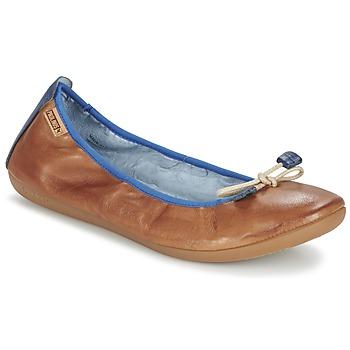 Schuhe Damen Ballerinas Pikolinos BORA BORA Camel
