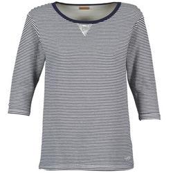 Kleidung Damen Sweatshirts Napapijri BOISSERON Marine / Weiss