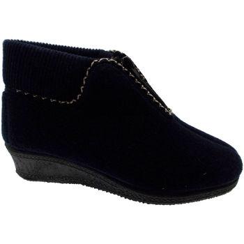 Schuhe Damen Low Boots Davema DAV558bl blu