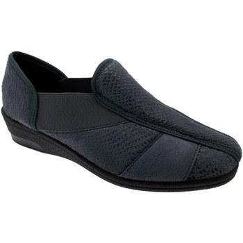 Schuhe Damen Hausschuhe Davema DAV7556gr grigio