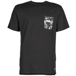 Kleidung Herren T-Shirts DC Shoes WOODGLEN Schwarz