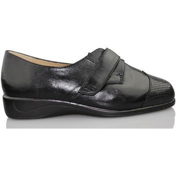 Schuhe Damen Derby-Schuhe Drucker Calzapedic Drucker Dschungel Schlange CALZAPEDIC SCHWARZ